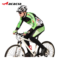 ACACIA 2019 pro Team Cycling Jersey Sets Long Sleeve Breathable Pad Sportswear Mtb Bicycle Bike Clothing Suit Cycling Equipment