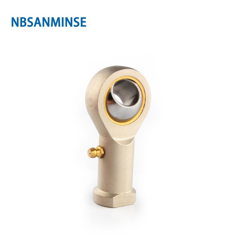 NBSANMINSE Eye Fish Joint Pneumatic Cylinder Fitting Steel Fitting Connector For ISO6431 ISO6432 ISO05552 in Pneumatic Parts from Home Improvement
