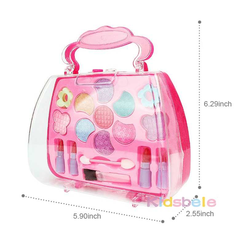 ... Girls Cosmetics Toys For Children's Makeup Box Pretend Play Sets Birthday Gift Kids Toy Present kids ...