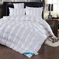 Роскошные Одеяло Duck/гусиный пух наполнитель 80 s хлопок ткань королева/полный/двойной/King Size многоцветный лоскутное зимнее одеяло