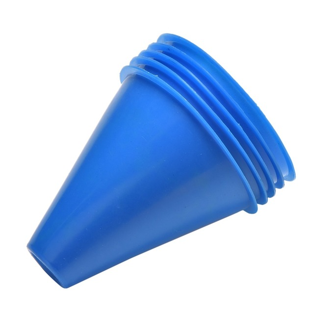5Pcs. Space Marker Cones Slalom for Football Soccer Training