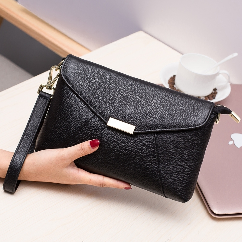 Retro Envelope Clutch Genuine Leather Clutch Bag Lady Handbag Messenger Bags Women Super Hero Crossbody Bags For Women women day clutch genuine leather envelope bag banquet women handbag vintage cowlayer messenger bag