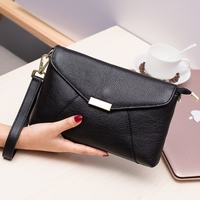 Retro Envelope Clutch Genuine Leather Clutch Bag Lady Handbag Messenger Bags Women Super Hero Crossbody Bags For Women