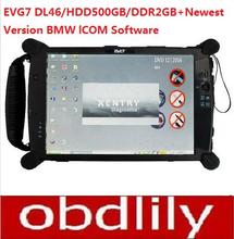 Hot selling EVG7 DL46/HDD500GB/DDR2GB Diagnostic Controller Tablet PC (Can works withBMW ICOM)(China (Mainland))