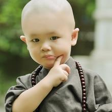 Chinese Monk clothes High quality Shaolin monk dress children cute monk style dressing футболка print bar shaolin monk