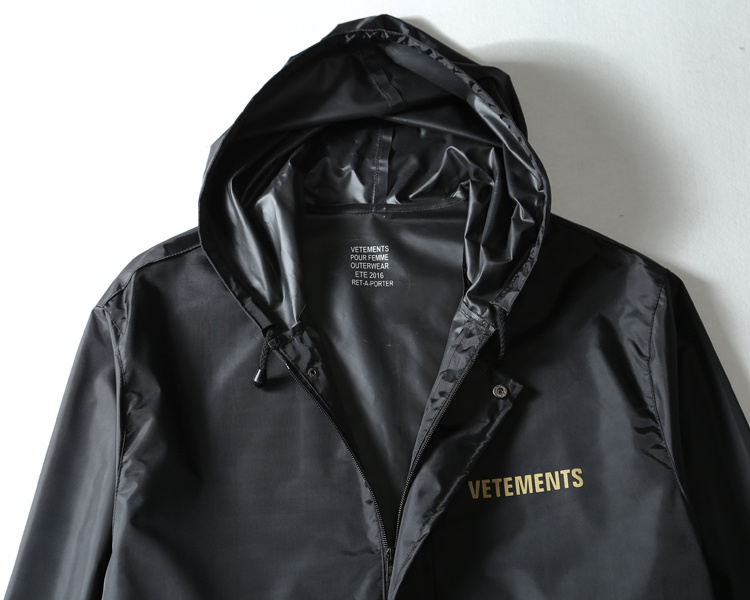 moda carta impresso vetements oversized jaqueta de