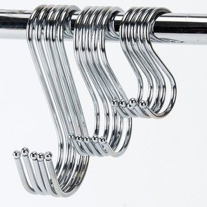 5Pcs Metal S-Shaped Hooks Kitc