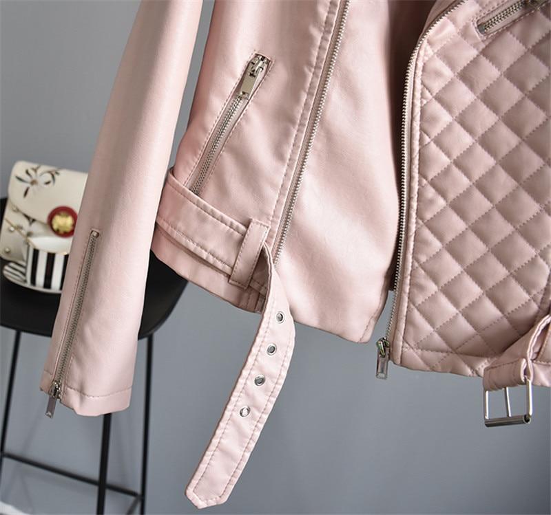 2018 Streetwear Moto Base À Court Printemps Noir Manteau 2 1 Outwear Cuir Femmes Glissière Nouveau Veste Faux De Mode En 3 Fermeture qOgIzz