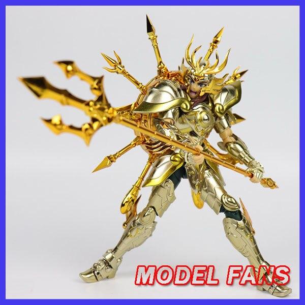 Modelo de los FANS de instock chuanshen cs Saint Seiya sog ALMA DE DIOS EX Libra Dohko figura de acción de mito de la armadura de Metal.