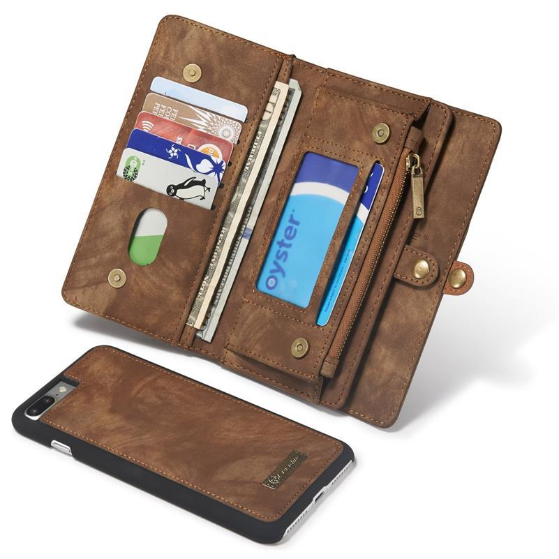 2017 New For IPhone 7 Plus Case Genuine Leather Flip