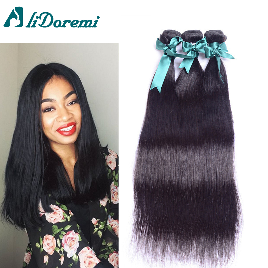 Peruvian Virgin Hair Straight 3 Bundles Deals 7A Human Hair Weave Peruvian Straight Virgin Hair Bundles Products on sale