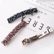 Women Hair Clips Bling Crystal Hairpins Headwear for Girls Rhinestone Hairpin Barrette Styling Tools Accessories 1Pcs