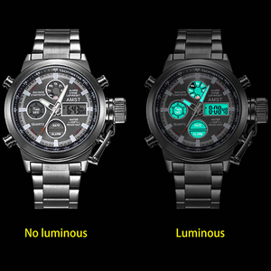 Image 5 - AMST Famous Luxury Brand Mens Watches Digital LED Military Watch Men Fashion Casual sports Electronics Man Wrist watches Relojes