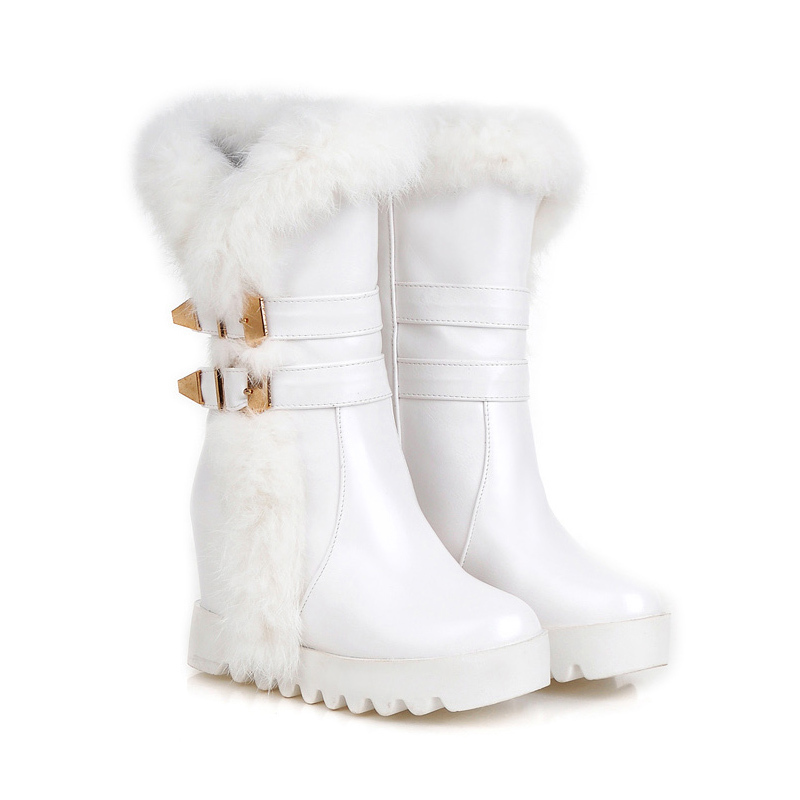 White Snow Boots For Women