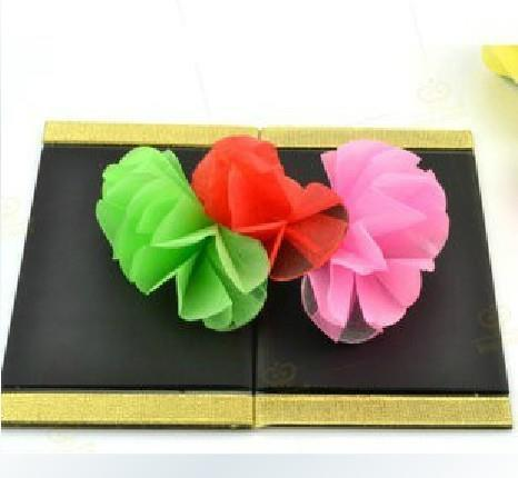Flower From Board (Small) Magic Tricks Stage Gimmick Props Illusions Mentalism Comedy Object Appearing Magia
