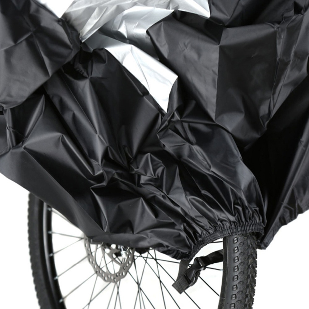 1pc Waterproof Bike Bicycle Seat Rain Cover Elastic Rain and Dust Resist TB