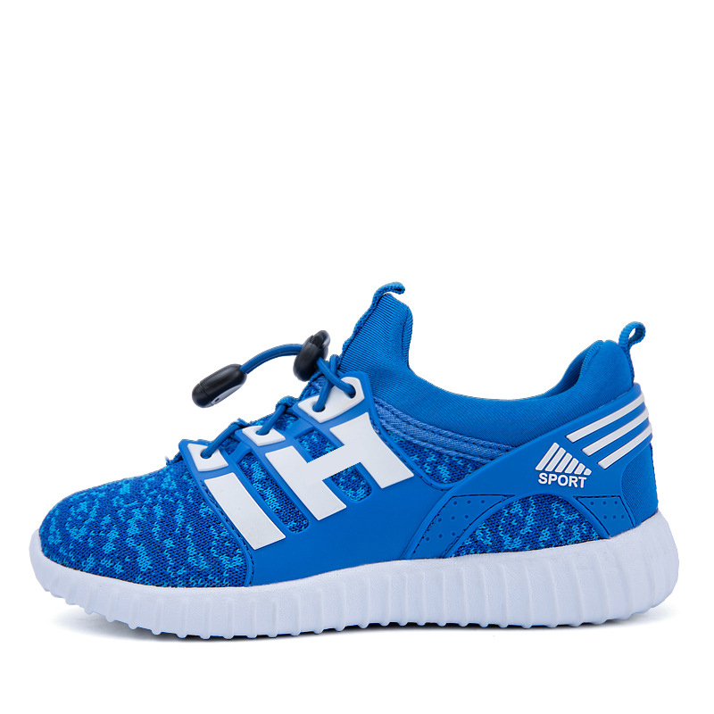 2016 children breathable mesh sports shoes fly