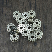 10pcs Industrial Iron Bobbins Household sewing machine bobbin Sewing Machine Tools vintage Sewing Machine Bobbin L150 industrial machine ipc 810 e5300 2g 250g