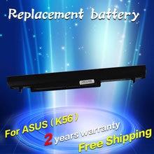 Jigu ноутбука Батарея для ASUS A32-K56 A41-K56 K46 K46CA K46CM K56 K56CA K56CM K46CM K56C K56CM K56CA 14.8 В