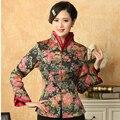 Многоцветный куртки традиционный китайский женщины хлопок пальто старинные кнопки верхней одежды пальто размер sml XL XXL XXXL м-51