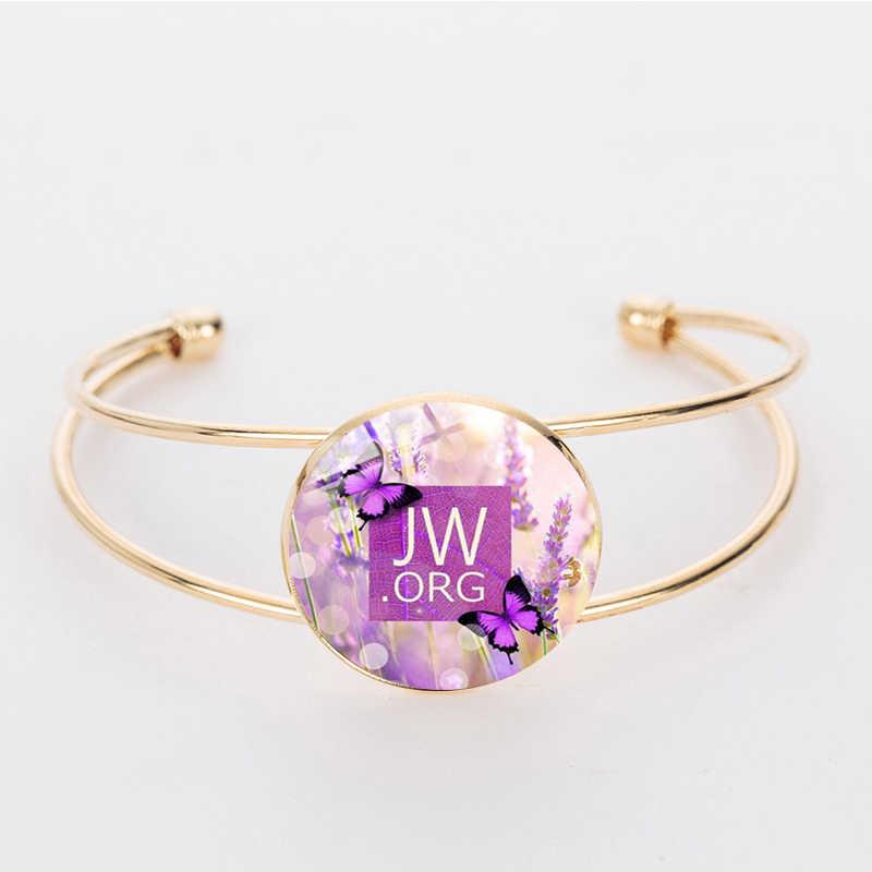 """Suteyi Jw. ORG Pesona Berdoa Gelang """"Tidak Ada Darah"""" Glass Photo Cabochon Perhiasan Saksi-saksi Yehuwa Buatan Tangan Gelang Gelang"""