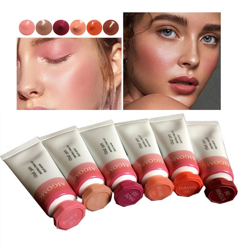 06cd37f68 De calidad superior profesional mejilla 6 colores Maquillaje Blush Rougir  bronceador colorete Erroten productos de belleza Rubor Maquillaje #