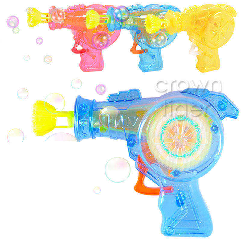 Bubbles 2color Cartoon Electric Children Magic Wand With Music And Light Flash Stick Bubble Blowing Gun Baby Out Door Toys Party Doll