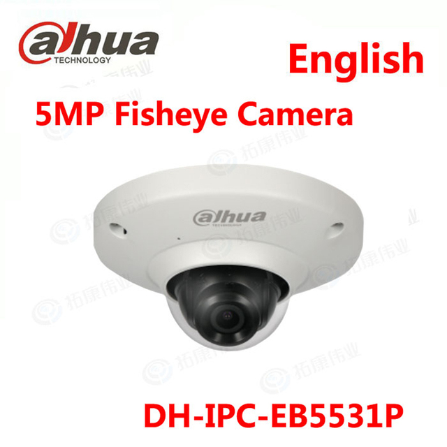 Aliexpress com : Buy Dahua DH IPC EB5531P 5MP WDR Panorama 180 Degree built  in MIC with SD card slot POE Network Fisheye IP Camera replace IPC EB5531