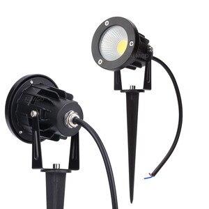 Image 1 - Уличный свет для сада, 3 Вт, 5 Вт, 7 Вт, 9 Вт, COB, 220 В, 110 В, светодиодные лампы для газона, 12 В, водонепроницаемые Ландшафтные дорожные прожекторы