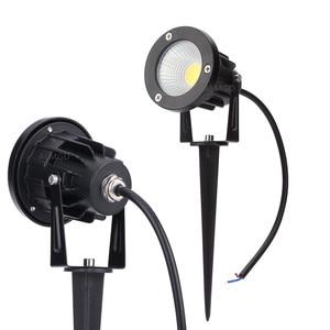 3W 5W 7W 9W Outdoor Garden Landscape Light 220V 110V 12V LED Lawn Lamp COB Waterproof Lighting Led Light Garden Path Spotlights(China)