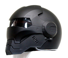Personality motorcycle helmet men Genuine and women iron 610 man retro the high-end off-road motorcycle black