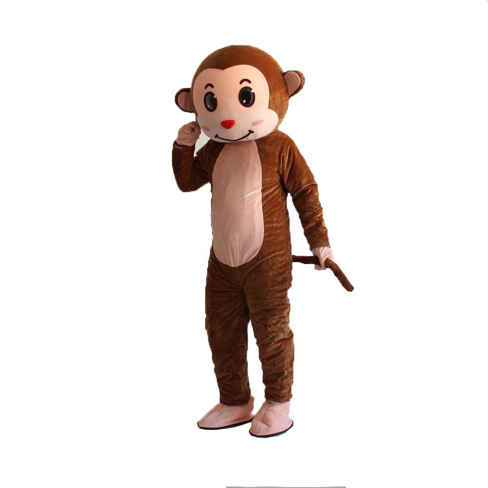 EVA Materiale del Casco Impertinente scimmia Del Costume Della Mascotte Del Fumetto Abbigliamento di Halloween Di Compleanno Cosplay di Trasporto libero