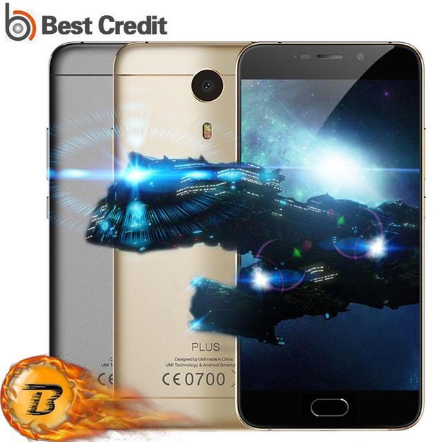 "Flagship Umi Plus Mobile Phone 4G LTE MTK6755 Octa-core 4000Mah Hifi Android 6.0 4G RAM 32GB ROM 5.5"" FHD Full Metal Smartphone"