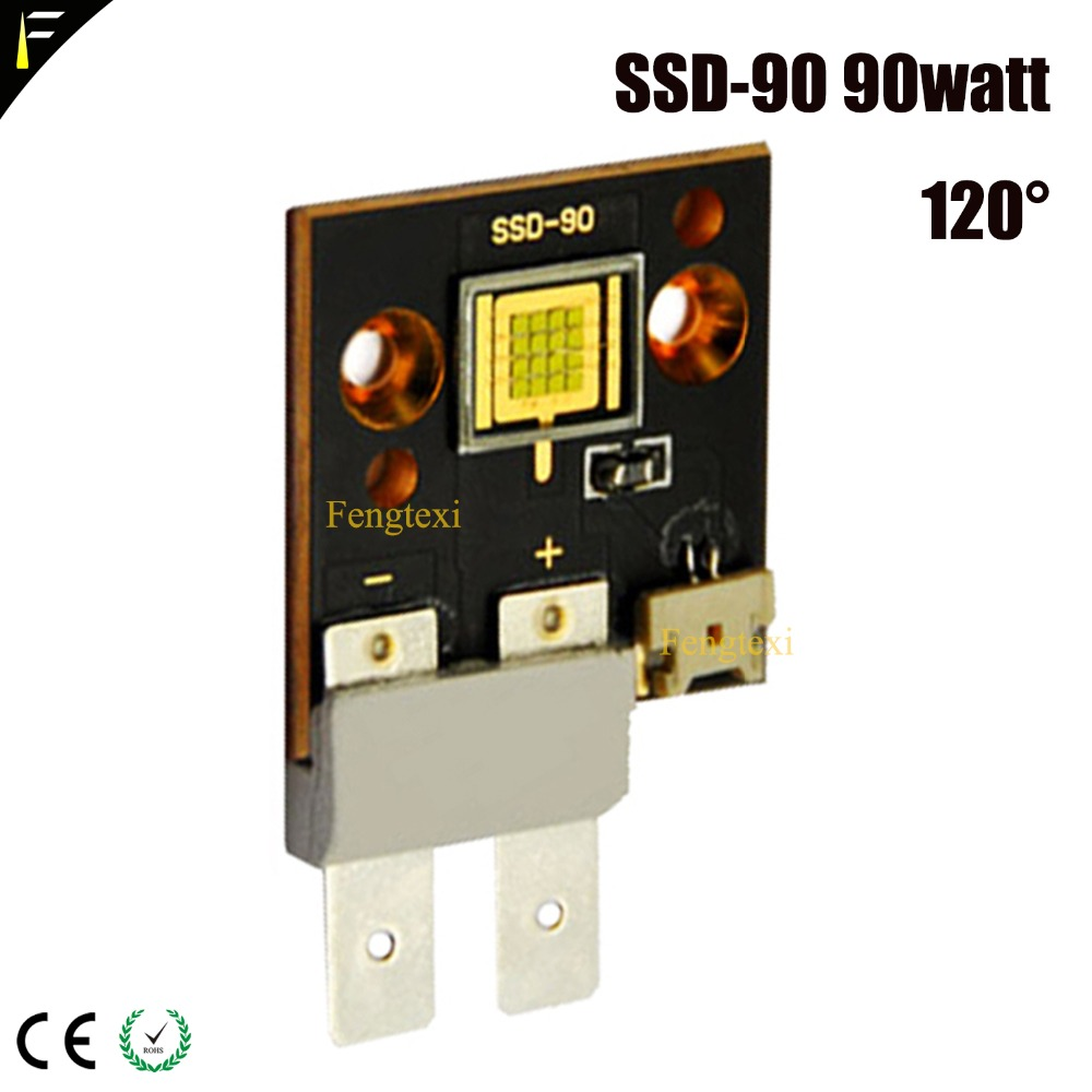 SSD-90 SST-300 YYT-320 móvil luz LED WW/CW 60 W 75 W 90 W 150 W 200 W 300 W vatios LED de seguimiento lámpara LED COB fuente del módulo