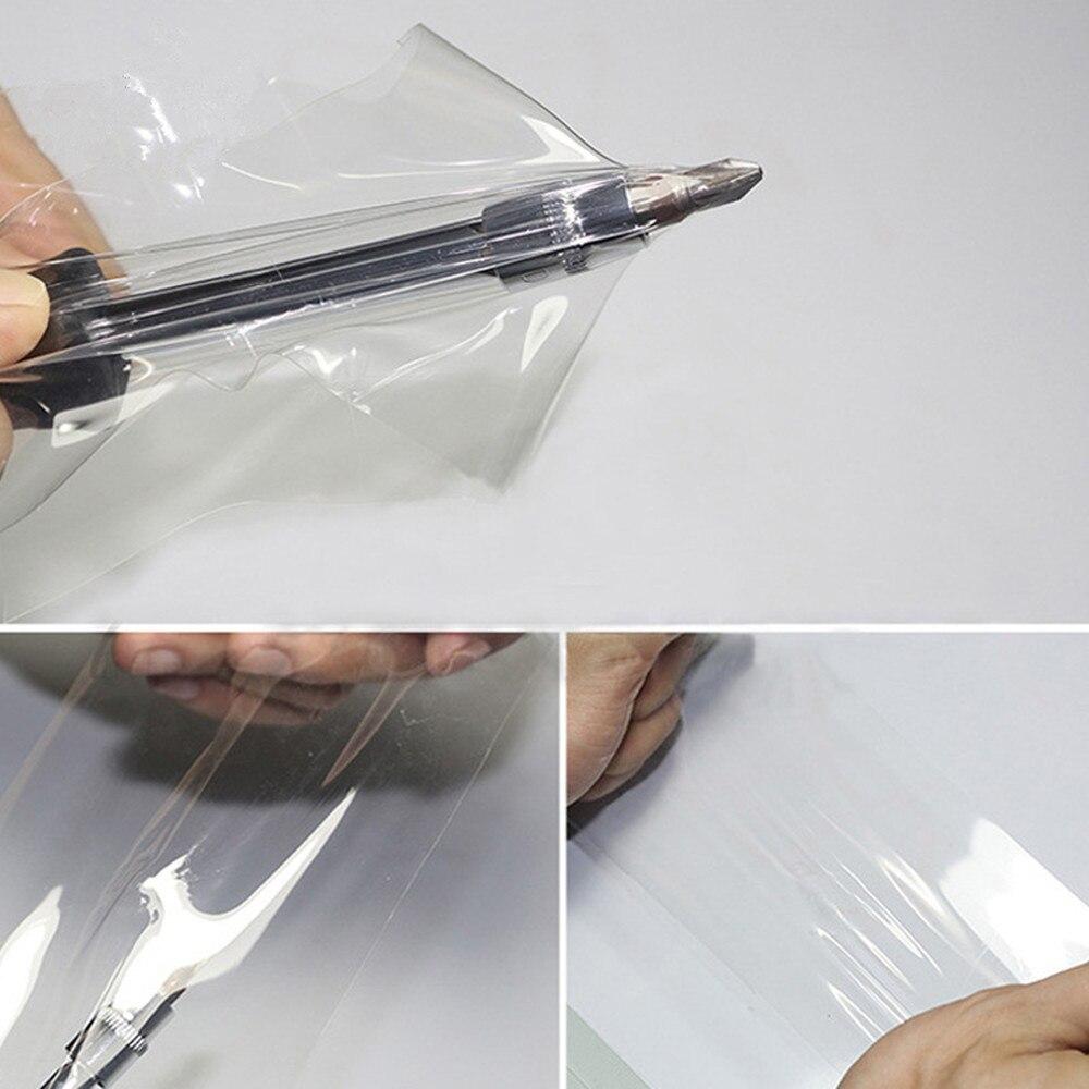 Film protecteur de voiture/meubles/marbre de SUNICE PPF Film protecteur de peinture de voiture Film d'emballage auto-adhésif 50cm x 600cm Film de TPH - 6