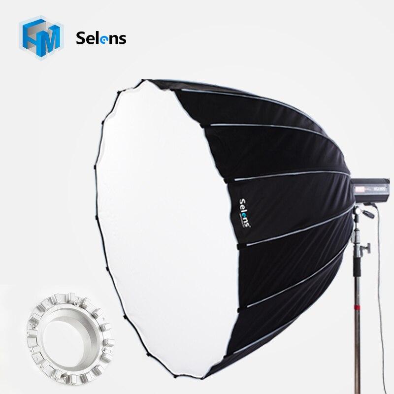Selens Hexadecagon Umbrella Flash Softbox Diameter 90cm With Bowens Mount Reflector for Studio Photo Flash Speedlight light 50x130cm softbox reflector with bowens mount for studio flash photo studio soft box photography accesorios fotografia light box