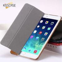 For IPad 2 3 4 Smart Case Luxury Deer Leather Cover For Apple Ipad2 Ipad3 Ipad4