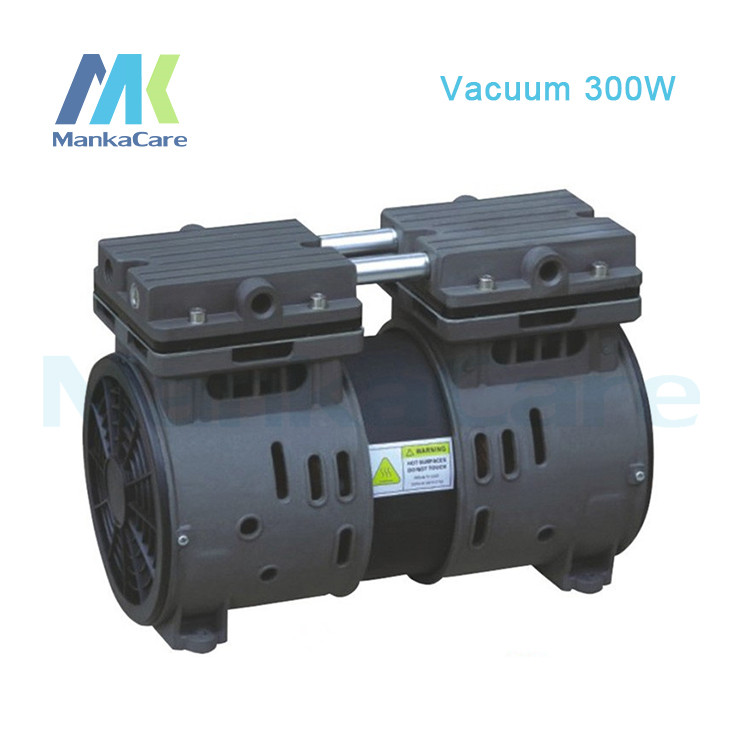 Manka Care - 220V AC 115L/MIN 300W Piston Vacuum Pump/Silent Pumps/Oil Less/Oil Free/Compressing Pump 220v ac 50l min 165w oil free piston vacuum pump hzw 165