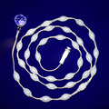 33pcs/ string P45mm DMX512 controlled 3D magic effects ball light led for led curtain screen;DC7.5V input;indoor used