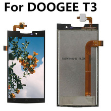 For DOOGEE T3 LCD Display+Touch Screen Digitizer Assembly Replacement for T 3 lcd