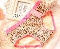 LIKEPINK 2017 Женщин Сексуальный Трусы Леопардовым Принтом Трусики Нижнее Белье Милая Девушка Хлопка Underwear Soft Женщины Трусики Один Размер