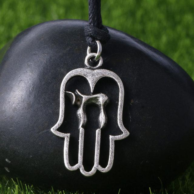 Online Shop Dropship New Jewelry Chai Necklace Hebrew Pendant