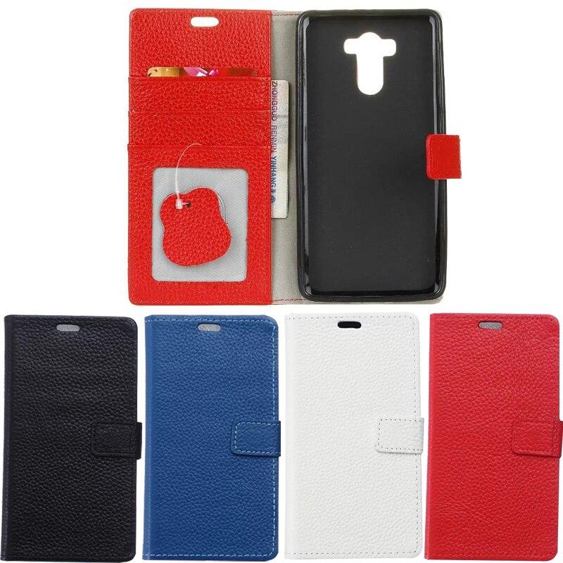 Uftemr Case For Xiaomi Redmi 4 Prime Cases Magnetic Genuine Leather Flip Wallet Cover Case For