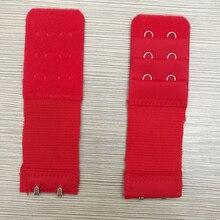 4 Pcs 2 Hook Bra Extender For Women's Elastic Bra Extension Strap Hook Clip Expander Adjustable Belt Buckle Underwear