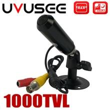 Uvusee CAMERA QUAN SÁT năm 1/3 Sony CCD 1000TVL HD Mini 3.7mm Đạn Camera An Ninh Giám Sát có Giá Đỡ