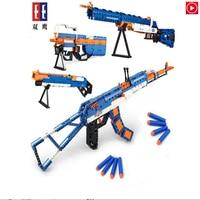 Legoed Toy Gun Weapon Guns AK47 M1 P90 M4 MP5 Rifle Scattergun Swat Firearms Legoingly Model Kit bricks LepinS toys for Kid Gift