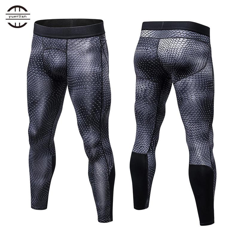 Yuerlian Neue GYM Kompression Bodybuilding Pantalones Hombre Fitness Strumpfhosen Hosen Trainingshose Für Männer Sport Leggings