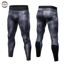 Yuerlian New GYM Compression Bodybuilding Pantalones Hombre