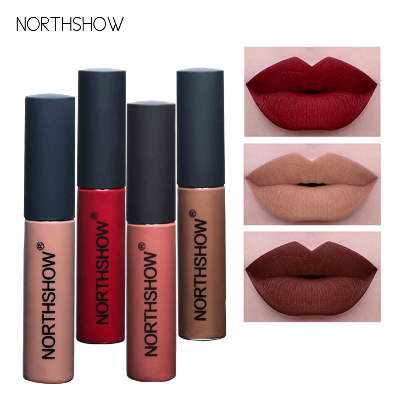 New 12 Colors Brand Moisturizer Pigments Lipgloss Matte Lip Gloss Long Lasting Waterproof Sexy Nude Liquid Lipstick Matte Lips