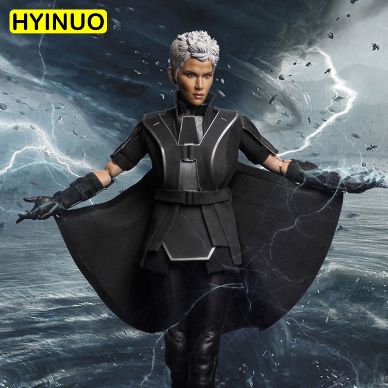 1/6 Scale FS002 X-Men Storm Woman Weather Manipulators Sexy Female Clothes Suit Set W/2 Sculpt 12 Full Set Action Figure Dolls1/6 Scale FS002 X-Men Storm Woman Weather Manipulators Sexy Female Clothes Suit Set W/2 Sculpt 12 Full Set Action Figure Dolls